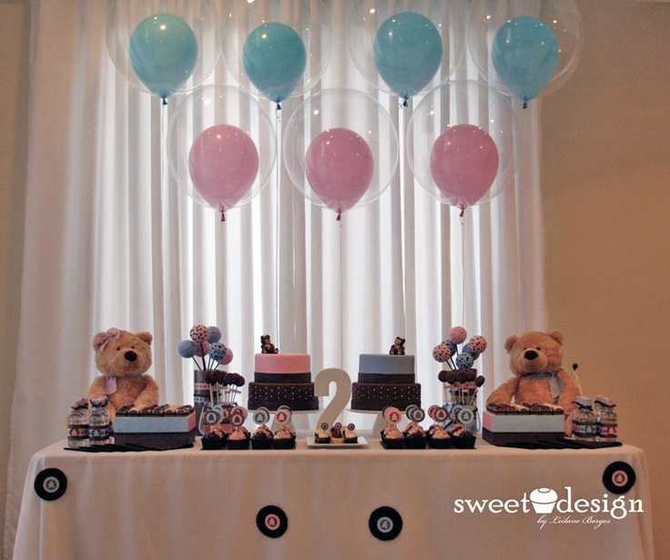 hermosa decoracin para baby shower