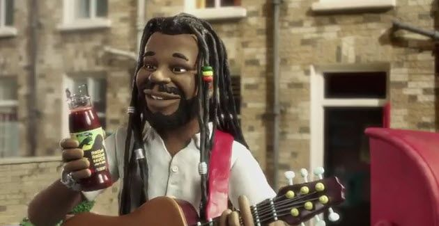 Levi Roots Gets Animated About Reggae Reggae Sauce, by Andy Scofield