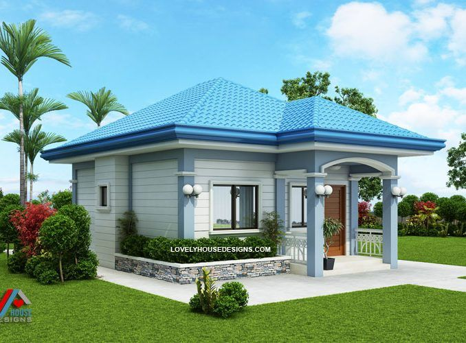 Small House Design On A Budget Two Bedroom Home Lovely House Designs Small House Design Beautiful House Plans House Design