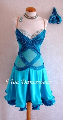 This would be cute to wear after wedding at the party (: well if your theme has blue in it..or simply for the bridesmaids...who made the rule saying bridesmaids had to wear ugly dresses (;