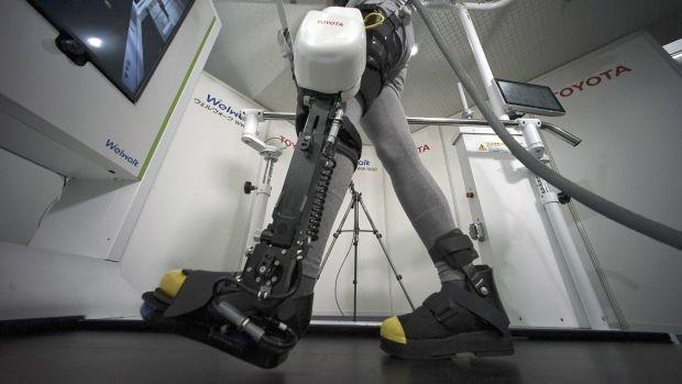 Toyota's Robotic Legs.