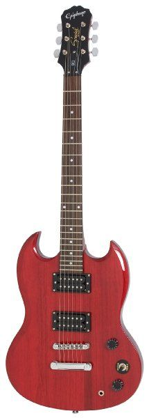 Epiphone SG Special Electric Guitar, Cherry:Amazon:Musical Instruments