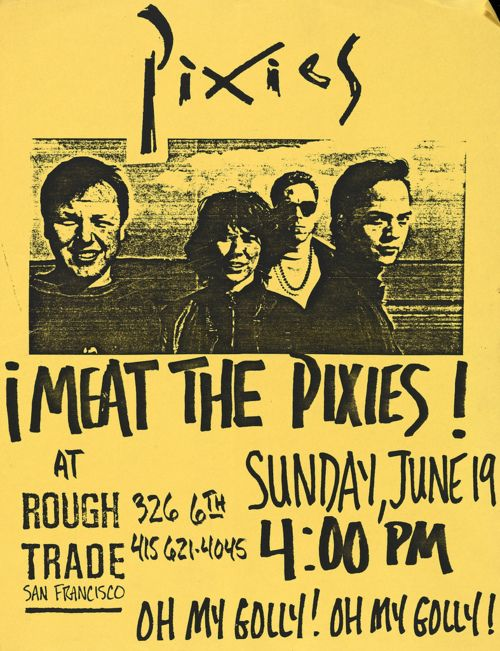 The Pixies are an American alternative rock band formed in Boston, Massachusetts in 1986. SK