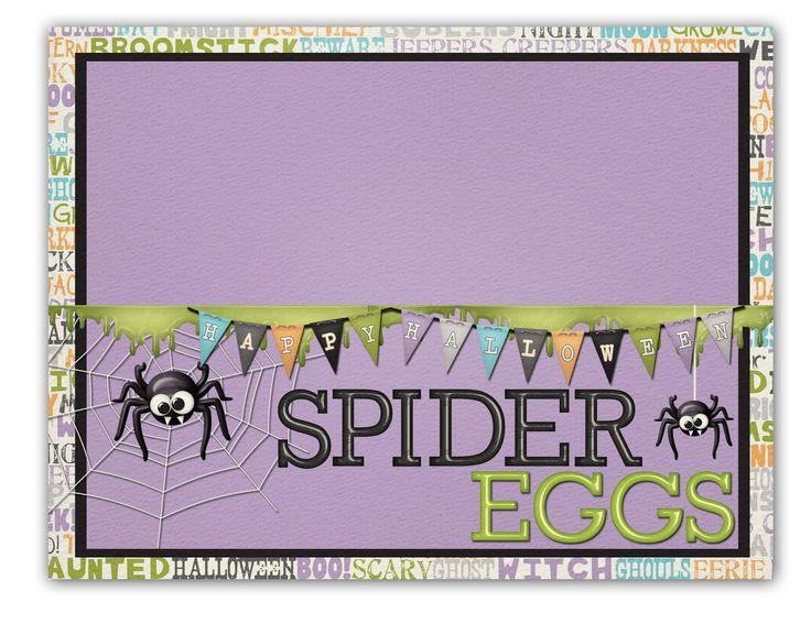 Halloween Snack Labels - Free Printables