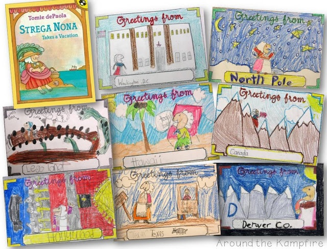 """Tomie dePaola Author Study and """"The Arist"""" Lesson Plan for 1st or 2nd Grade Students"""