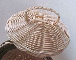 How To Add Covers to Round Reed Baskets
