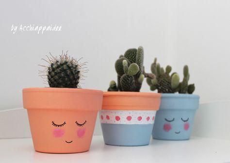 Oltre 25 fantastiche idee su vasi di terracotta su - Decorare vasi terracotta ...