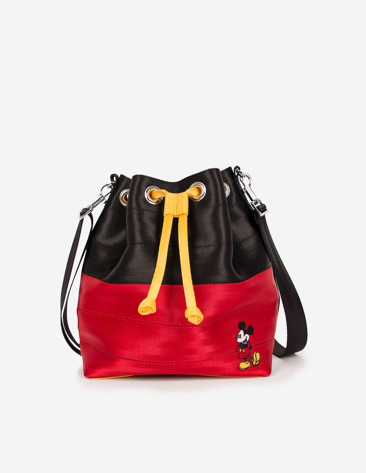 OMG - want! Harvey's seat belt bag, Mickey Mouse
