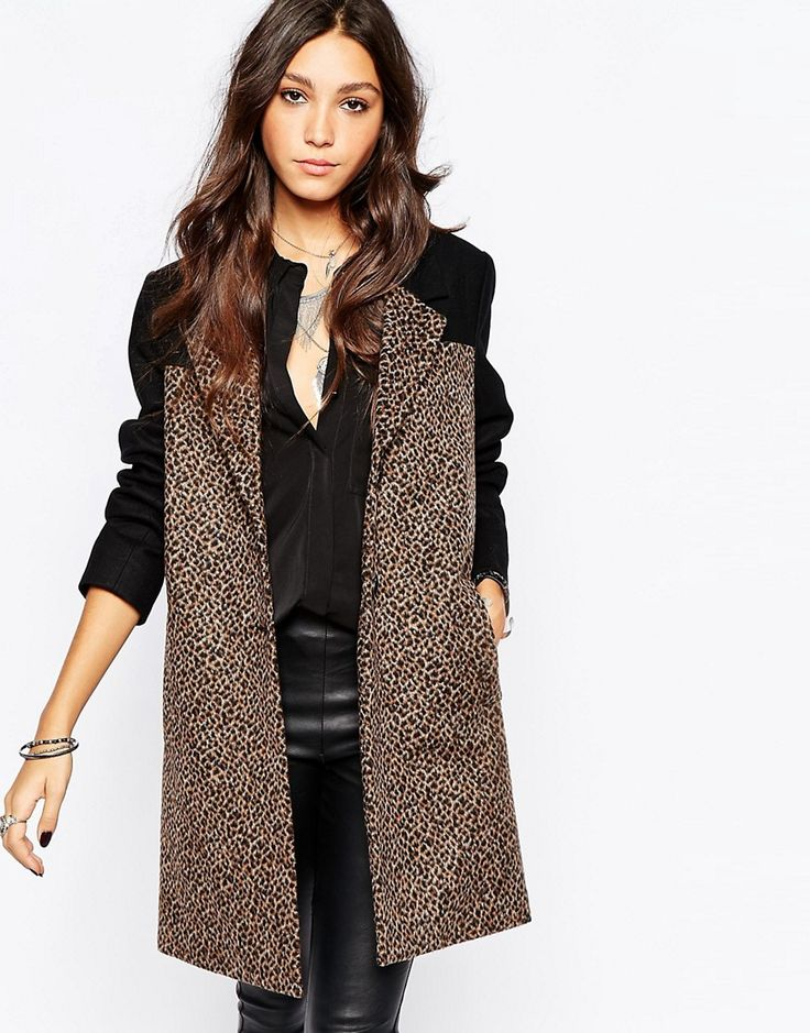 Religion Eternal Tailored Wool Coat With Leopard Print Panels http://www.sizestyler.co.uk/product/buy/religion-eternal-tailored-wool-coat-with-leopard-print-panels--jet-blackanimal-16021363