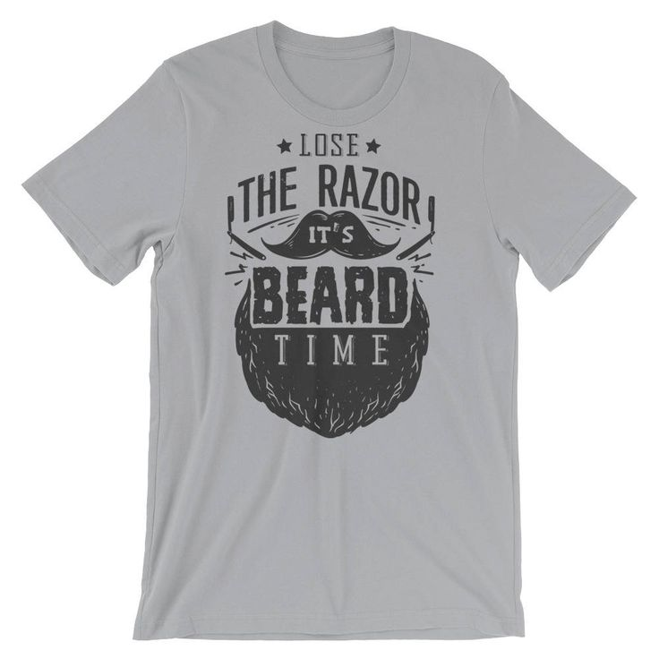 Beard Lover Gifts - Beard Tee - Funny Beard Tshirt - Mustache Shirt -  Mens Graphic Tshirt -Short-Sleeve Unisex T-Shirt