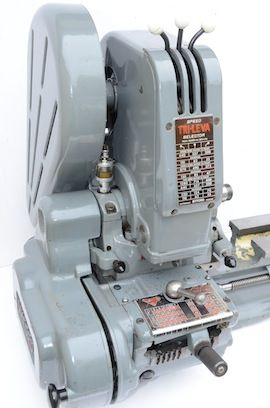 cover view Myford  ML7 Trileva gearbox lathe for sale K99731