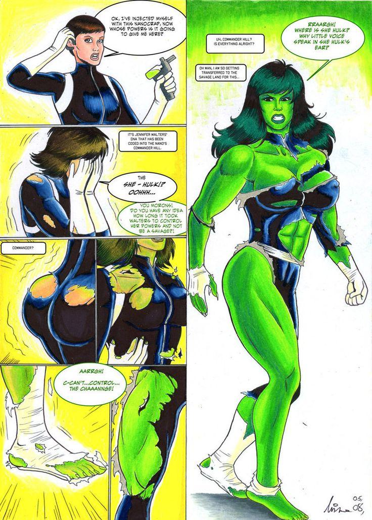 female hulk out