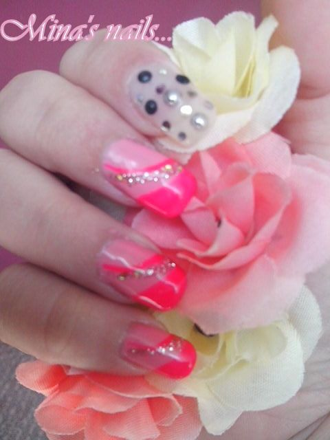 FANTASTIC nails..... with my friend Katerina...