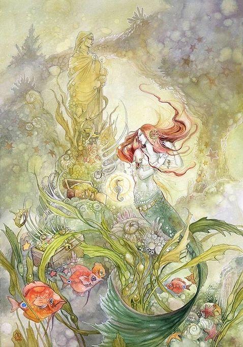 Русалка. Автор: Stephanie Pui-Mun Law.