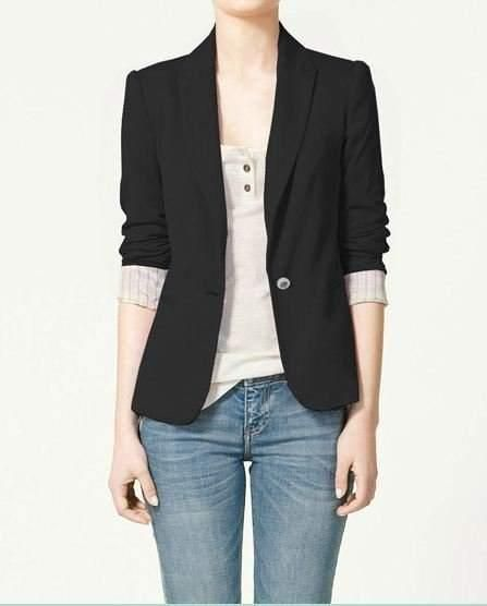 Женский пиджак под джинсы фото