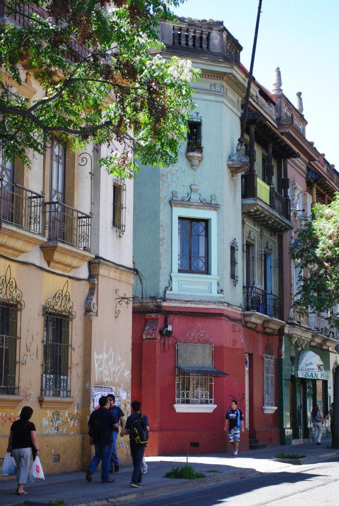 Barrio Brasil ,Santiago Chile