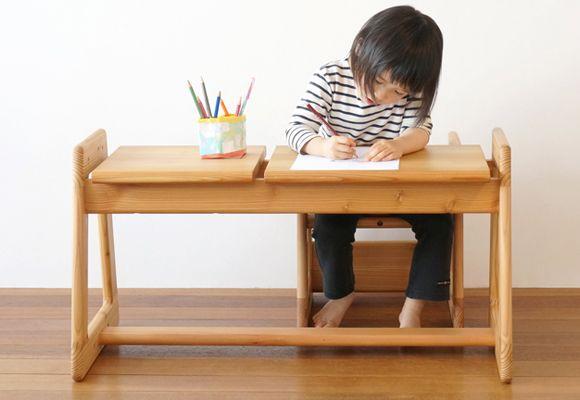 Hermosos figuras y muebles de madera infantiles for Sillas para escritorio de madera