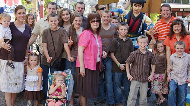 Celebrating Three Generations of Mothers in the Duggar Family