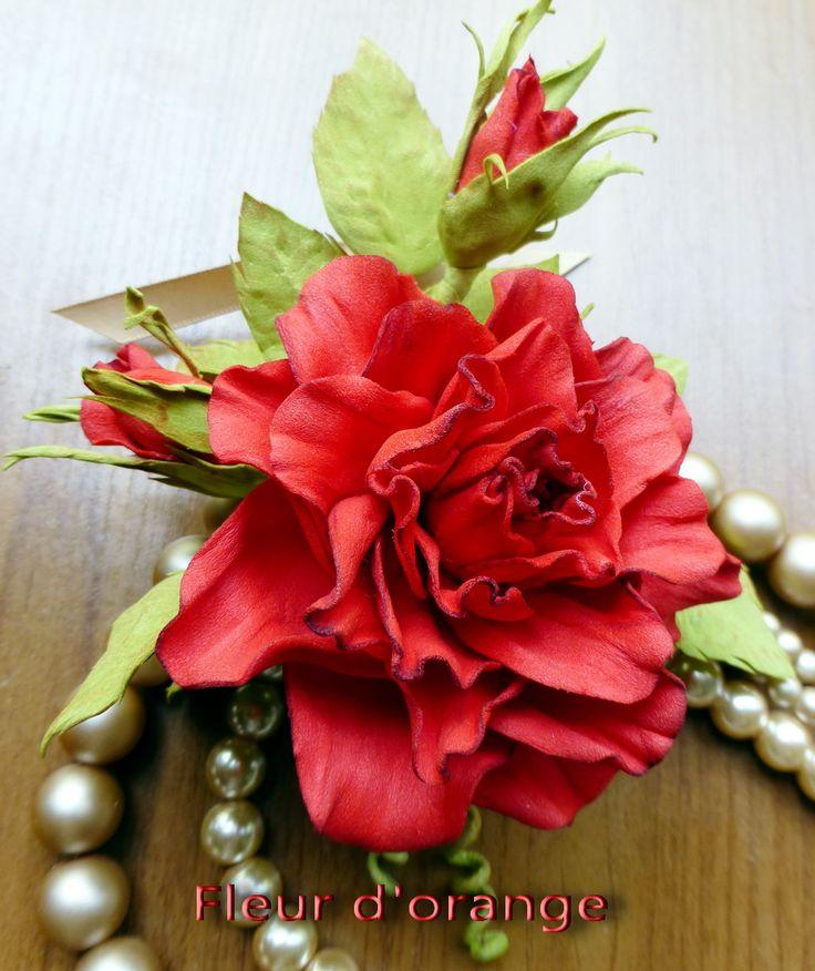 Букетик роз из фоамирана http://www.livemaster.ru/fleurdorange