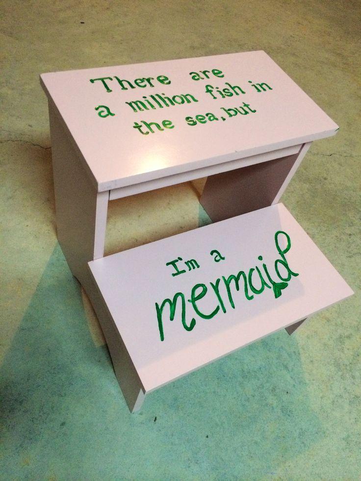 Baby Girl Bathroom Mermaid Theme Continues