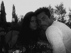 David with ex-girlfriend Chloe Pridham