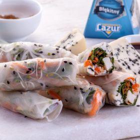 Lazurowe spring rolls
