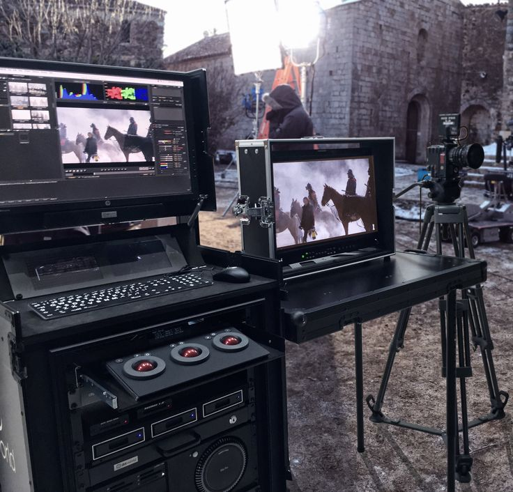 DIT World delivers with it's stations all the solutions for your film  production