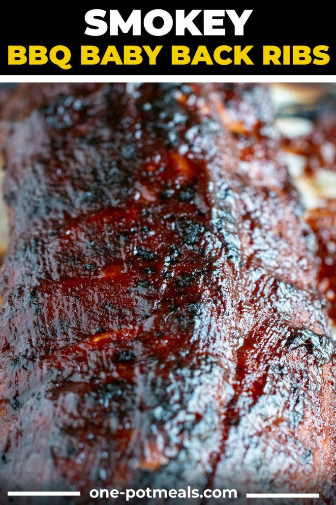 Instant Pot Smokey Baby Back Ribs One Potmeals Com Recipe Bbq Recipes Ribs Bbq Baby Back Ribs Baby Back Ribs