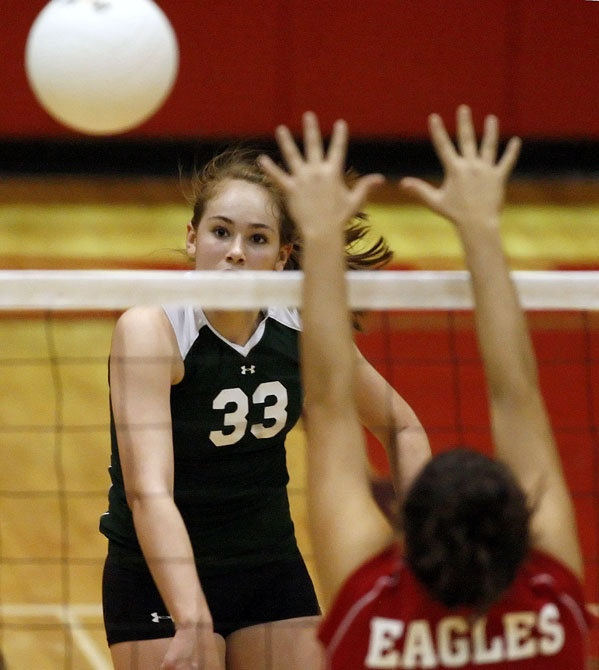 I played Volleyball in Junior High. I had a serve that created a twist on the ball. I served an entire game that won our game.