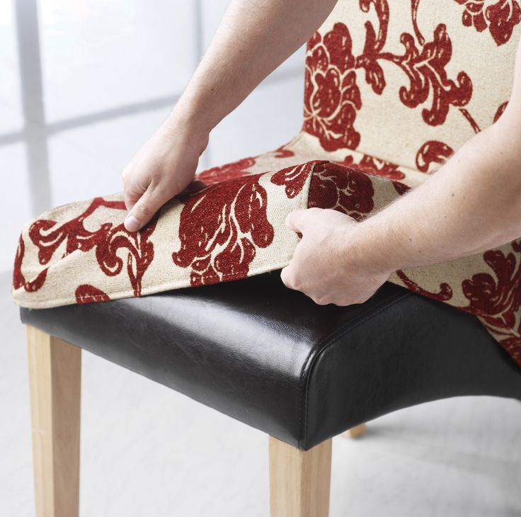 cool HOW TO MAKE A DINING CHAIR COVER | Chair Pads & Cushions