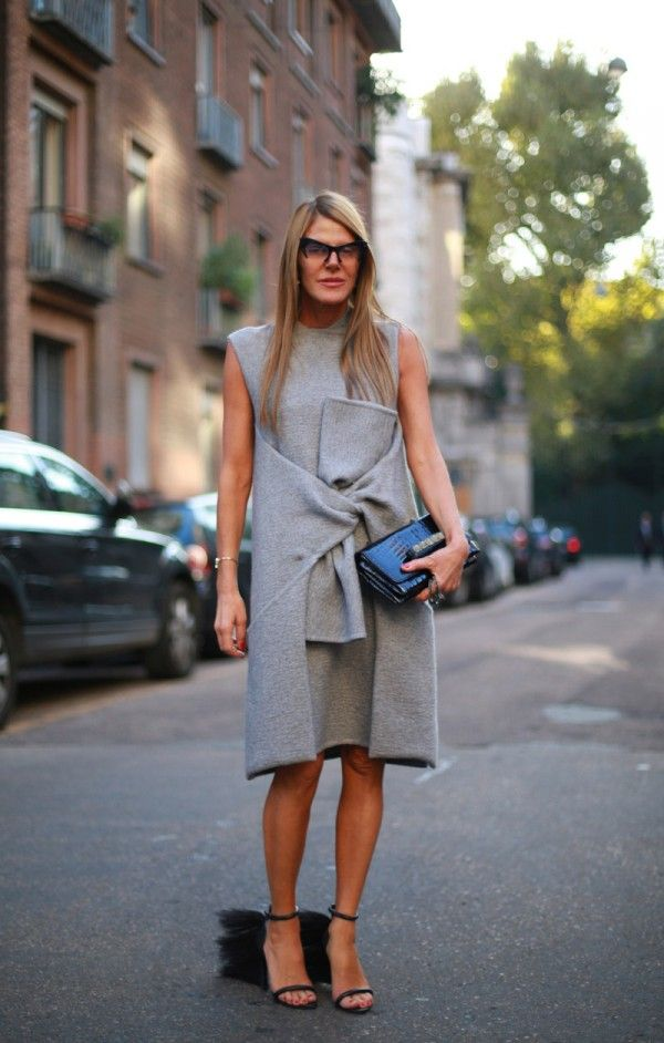 Anna Dello Russo, 15 street style photos from Milan Fashion Week #MFW #celine #loewe