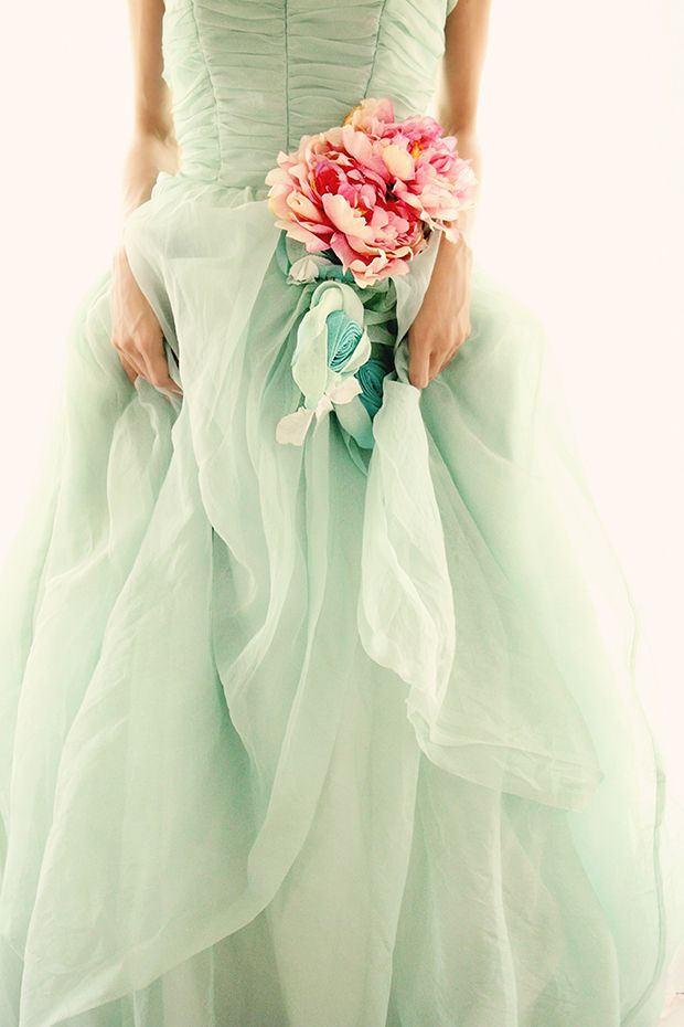 Vintage Ball Gown by Christine Rose Elle www.ChristineRoseElle.com