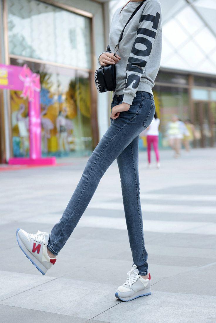 $9.50 (Buy here: https://alitems.com/g/1e8d114494ebda23ff8b16525dc3e8/?i=5&ulp=https%3A%2F%2Fwww.aliexpress.com%2Fitem%2FTop-fashion-2016-summer-plus-size-high-quality-elastic-woman-denim-pants-cotton-button-scratched-zippers%2F32678179677.html ) Top fashion 2016 summer plus size high quality elastic woman denim pants cotton button scratched zippers women jeans D138 for just $9.50