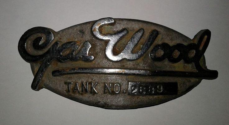 Gar Wood Boat Parts Antique Parts Stamped Tank Number 2689 #GarWood