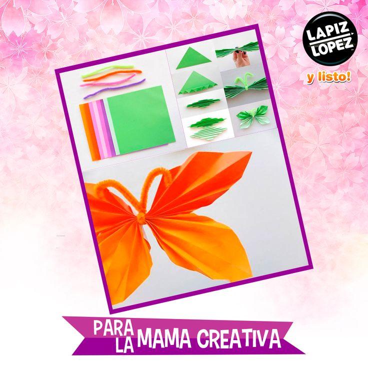 La primavera llegó y puedes crear estas mariposas para darle alegría a tu casa. ¡Sigue el paso a paso!