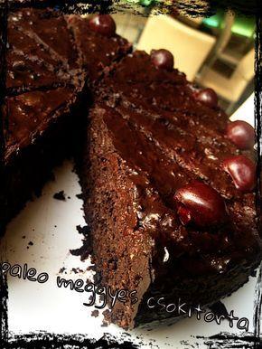 Paleo meggyes csokitorta   Praktikák sok gyerekhez