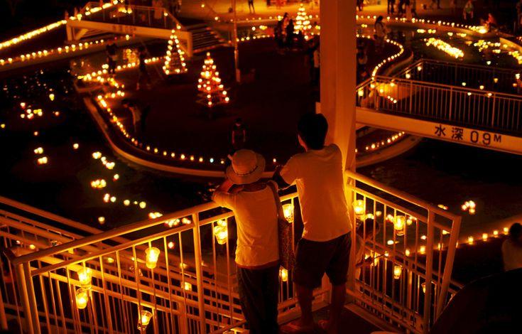 Candle Night in Shodoshima |