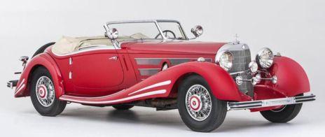 El 540 K Spezial Roadster del año 1934, proviene de un 500 K pero esta es una versión especial y descapotable. Puede convertirse en el protagonista de la subasta al ser el más caro de todos, se estima un precio entre 3,6 y 5,8 millones de euros.