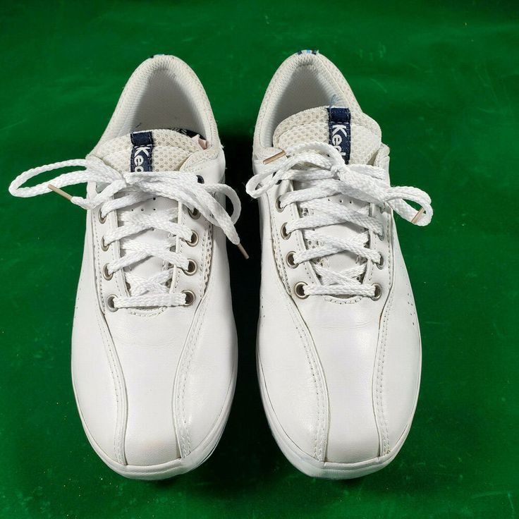 Keds Spirit Wh14168 White Tennis Women S Size 8 39 Leather Shoe Euc Keds Tennis White Leather Sneakers Keds Leather Shoes