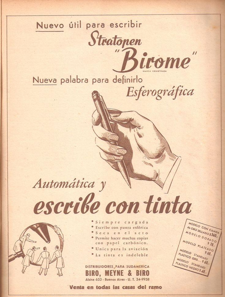 Bolígrafo marca birome I - László Bíró - Wikipedia