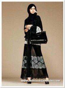 Abaya with Pants Style