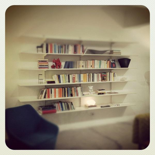 Libreria CONTINUA / design: Hannes Wettstein per Pallucco