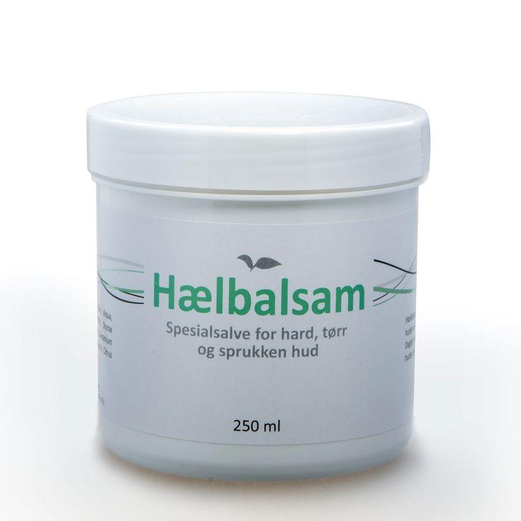 Hælbalsam, krukke à 250 ml. For tørr, sprukken og hard hud. TILBUD!