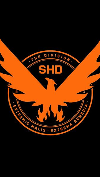 The Division 2 SHD Phoenix Logo 8K7680x4320
