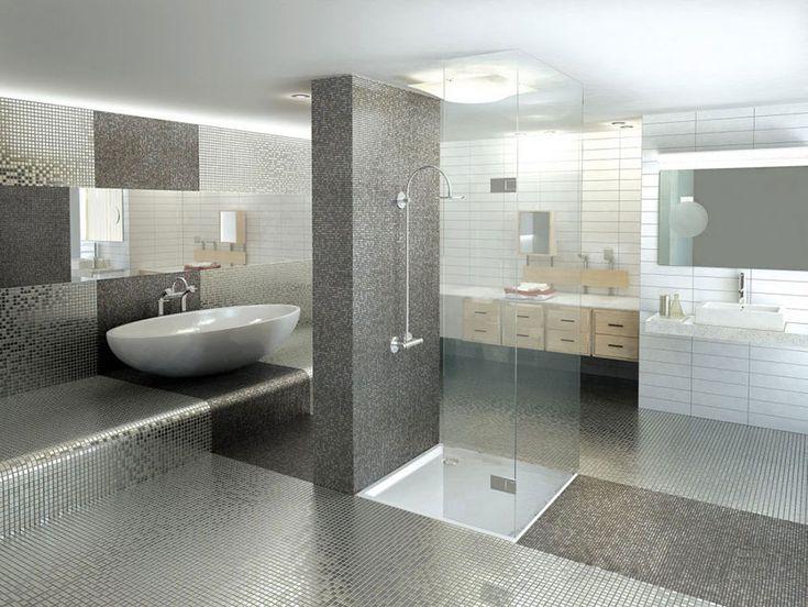 Oltre 1000 idee su Bagni Di Piastrelle su Pinterest Bagno con doccia ...