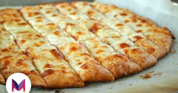 Pizza creme de alho