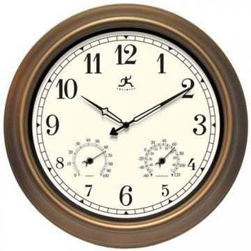 """Craftsman Wall Clock I - Clocks - Home Accents - Home Decor   HomeDecorators.com  18""""  $67"""