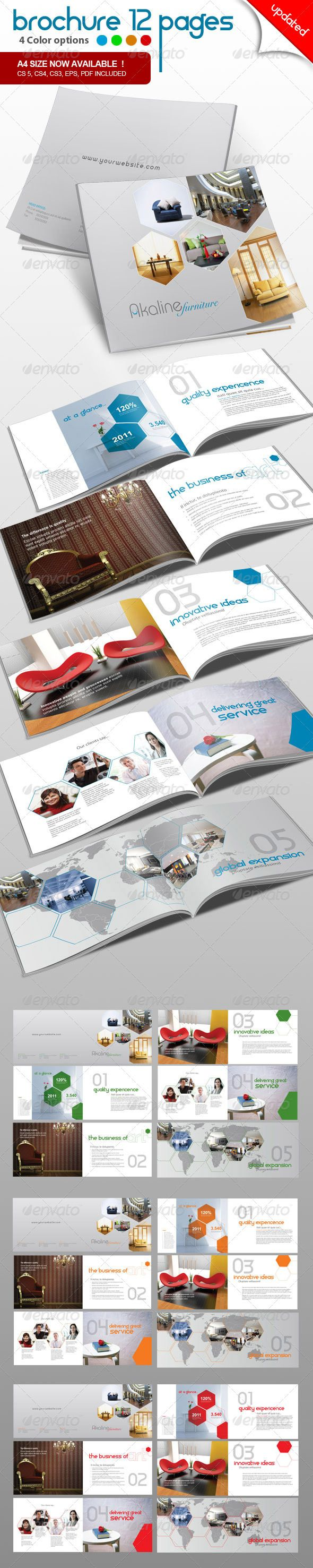 Corporate Brochure 12 pages  - GraphicRiver Item for Sale