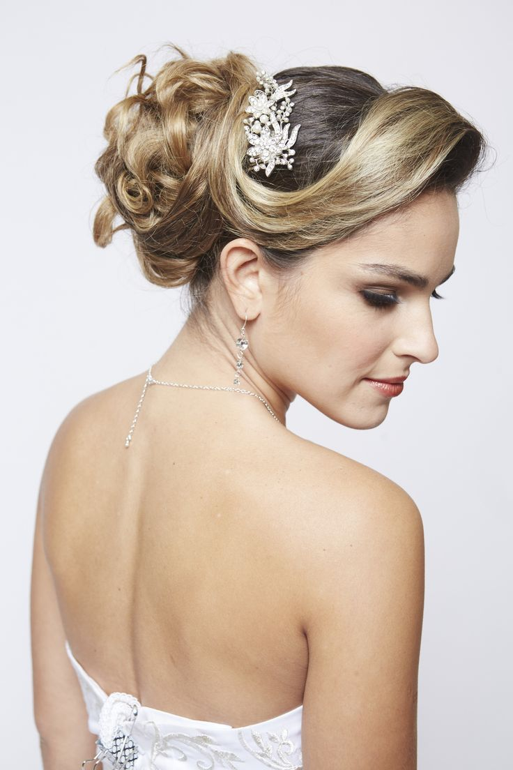 Bridal look hair and make up by me