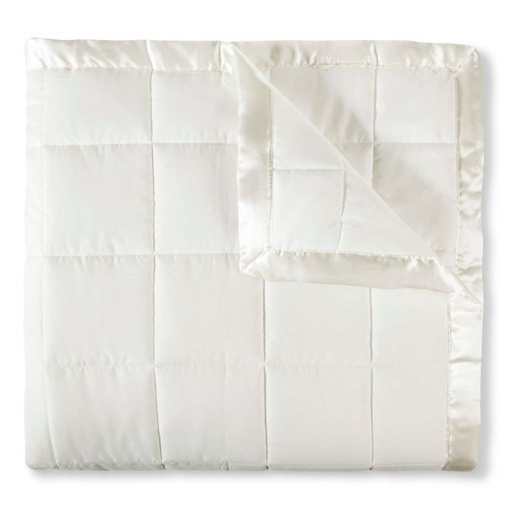 Elite Home Down Alt Microfiber Blanket - Ivory (Full/Queen)